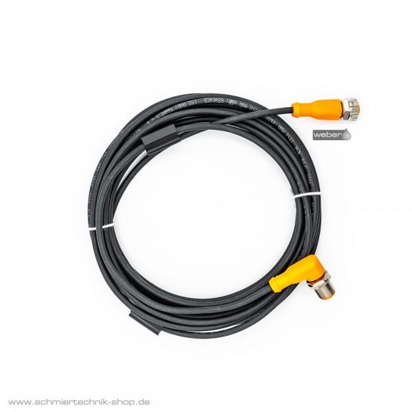 Anschlussleitung mit Stecker 4-polig / 5 Meter / Stecker / Buchse | 1000912468